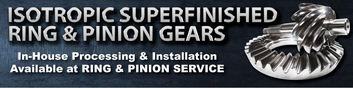 Ring Pinion Gear Polish Finish Service Norcal Sacramento Calif