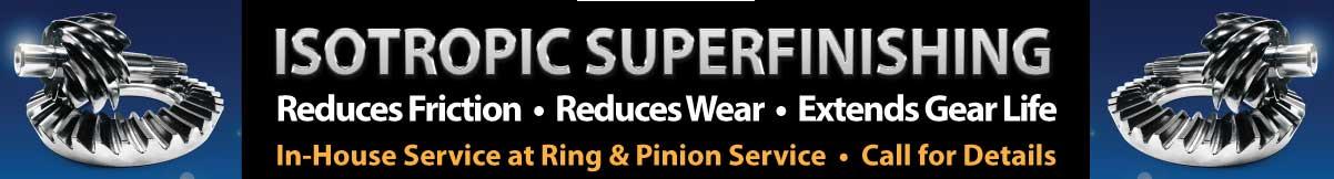 Gear Polishing Service NorCal